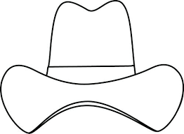 Cowboy Hat Coloring Page Download Free Printable And Coloring Pages