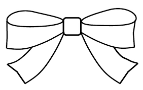 Small Picture Image of Hair Bow Clip Art 7730 Free Coloring Pages Of Bows And