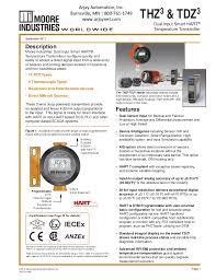 Dual Input Temperature Transmitters