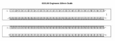 Oval Scale Rulers Printed With Your Logo And Contact Details