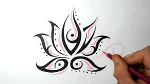 Small Picture Lotus Flower Tattoos Quick Design Sketch Idea YouTube