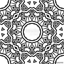 Modern Symbol Stylish Decorative Cicle Vector Shapes Floral Mandala
