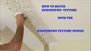 Knockdown Textured Ceiling Knockdown Texture Sponge Drywall Repair Tool