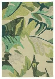 capri 1668 06 palm leaf green rug green
