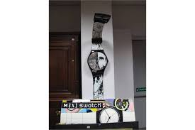 swatch maxi swatch wall clock swiss