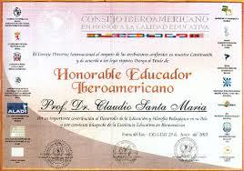 formato mencion de honor instituto superior de ciencias de la salud