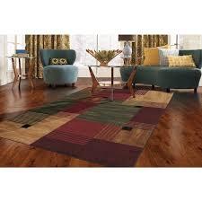 color block area rug clay alder home bethany color block area rug texture and color block