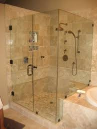 mesmerizing thick glass shower doors 3 8 thick clear tempered glass degree shower enclosure with the