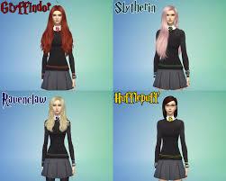 NOEYbood: My character [ The Sims 4 Hogwarts] ตัวละครซิมส์ 4 ในฮอกวอตต์ l  NOEYbood