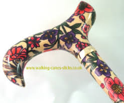 Ladies Walking Canes Decorative Ladies Decorated Patterned Walking Sticks Canes 49