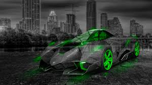 lamborghini egoista crystal city car