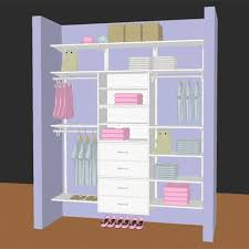 Kids Closet White Storables