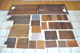 hardwood floor samples