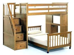 low loft bed plans full size with storage fresh diy bunk