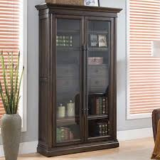 78 glass door bookcase bookcase with