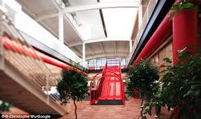 google office slides. Pictured Is A Slide In One Of Google\u0027s Offices While It Seems Excessive, Scientists Claim Google Office Slides