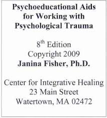 Psychoeducational Aids For Working With Psychological Trauma