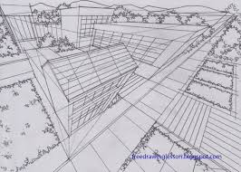perspective drawings of buildings. Draw Buildings In Three Point Perspective Drawings Of U