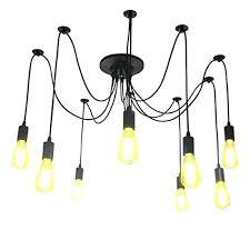 ceiling lights spider ceiling light pendant lighting heads chandelier vintage supplies multiple adjule lights uk