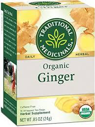 Traditional Medicinals Organic Ginger Herbal Tea, 16 ... - Amazon.com