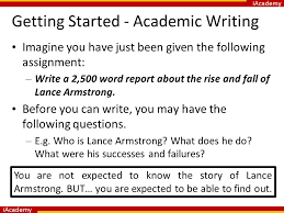 an introduction to academic writing ppt video online  32 getting