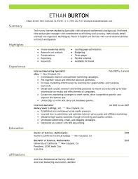 New Media Specialist Sample Resume Enchanting Social Media Specialist Resume Lovely Media Resume Examples Examples