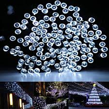 50 MultiColoured Solar Powered LED Fairy Lights  This Is It StoresSolar Panel Fairy Lights