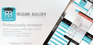 Online Resume Website Enchanting Amazon Resume Builder Appstore For Android