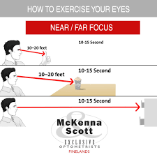 Presbyopia Eye Exercise Chart How To Exercise Your Eyes Strengthen Your Eyes Near And