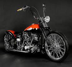 harley davidson custom choppers two tone harley davidson bike