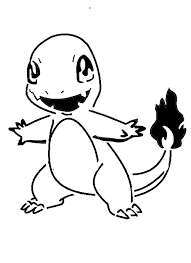 14 Charmander Lineart Pumpkin Carving Stencil For Free Download On