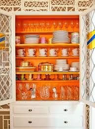 painting shelves ideas10 Ideas to Make Your Shelves Pop  Brit  Co