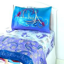 beautiful little mermaid twin bedding bed sheets toddler ocean set be