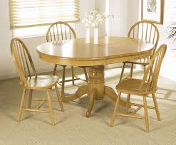 photos of extendable round dining table