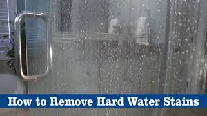 how to remove hard water stains using bkf