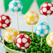 Mini Soccer Ball Decorations Cool Score Big Soccer Cake Pops Wilton