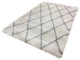 logan lg07 rug diamond ivory and grey 160x230 cm