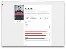 Resume Builder Web Page Template Free Download Personal Website