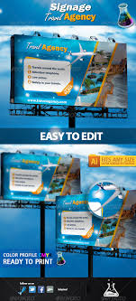 Travel Agency Stationery And Design Templates From Graphicriver