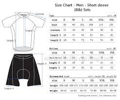 Fox Size Chart Fox Jersey Size Chart Cross Jersey Ideas