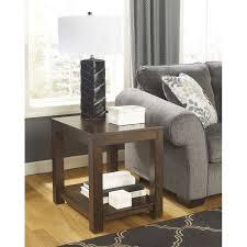grinlyn rectangular end table