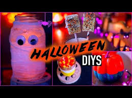 diy halloween decorations treats youtube