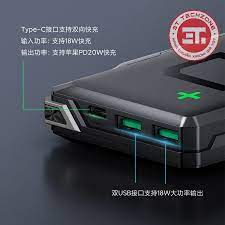 Pin sạc dự phòng Xiaomi Black Shark 20000mah - Hỗ trợ chuẩn PD 20w - Sạc  nhanh 2 chiều [ Chính hãng ] - 3T TechZone