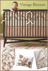 dwellstudio vintage blossom crib set
