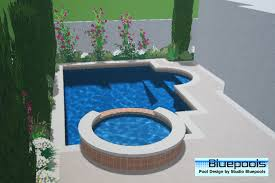 Small Pool Designs Small Pool Designs Small Pool With Spa My Pins Pinterest