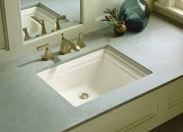 unique undermount bathroom sinks. memoirs vitreous china rectangular undermount bathroom sink with overflow unique sinks