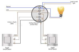 standard 2 way wiring system