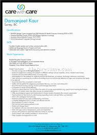 Charming Caregiver Resume Example
