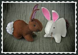 Free Bunny Pattern Template Awesome Design Inspiration