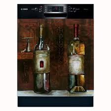 Overstock Kitchen Appliances Appliance Art Old World Wine Dishwasher Cover Free Shipping
